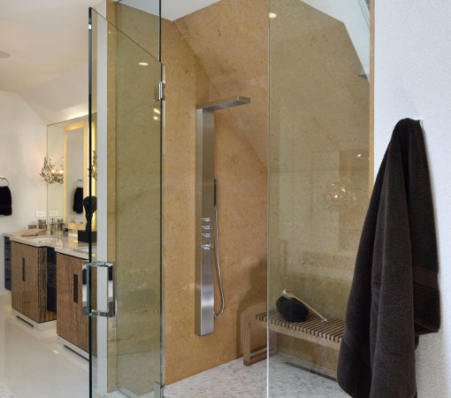 Custom Spa Bathroom - Chicago Designer JRWD