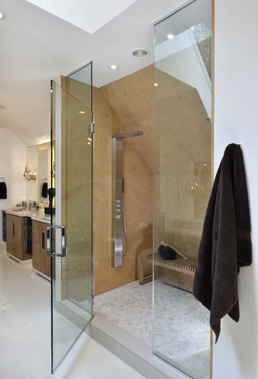 Custom Spa Bathroom - Chicago Designer JRWD