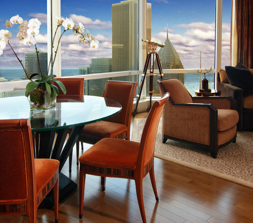 Interior Designer From Chicago Creates Warm Interior At Trump Tower
